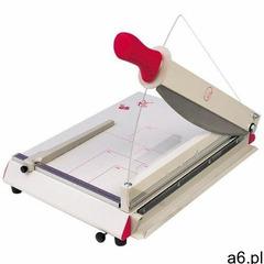 Gilotyna biurowa A3 tnąca do 50 kartek z automatycznym systemem docisku papieru i osłoną bezpieczeńs - ogłoszenia A6.pl