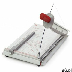 Solidna i nowoczesna metalowa gilotyna biurowa A4 z ręcznym systemem docisku papieru - ★ Rabaty ★ Po - ogłoszenia A6.pl