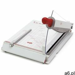Wydajna metalowa gilotyna A4 tnąca jednorazowo do 40 kartek papieru z automatycznym dociskiem - ★ Ra - ogłoszenia A6.pl