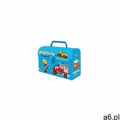 Adamigo , gry logiczne pojazdy i zawody, zestaw w kuferku - ogłoszenia A6.pl