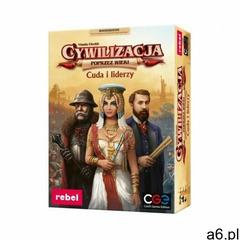 Gra cuda i liderzy dodatek do gry cywilizacja marki Rebel - ogłoszenia A6.pl