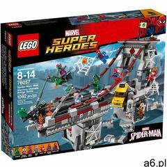 76057 SPIDERMAN: PAJĘCZY WOJOWNIK Spider-Man: Web Warriors Ultimate Bridge Battle - KLOCKI LEGO SUPE - ogłoszenia A6.pl