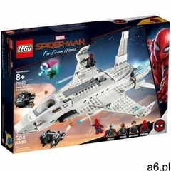 76130 ODRZUTOWIEC STARKA I ATAK DRONÓW (Stark Jet and the Drone Attack )- KLOCKI LEGO SUPER HEROES - ogłoszenia A6.pl