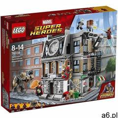76108 STARCIE W SANCTUM SANCTORUM (Sanctum Sanctorum Showdown) - KLOCKI LEGO SUPER HEROES wyprzedaż - ogłoszenia A6.pl