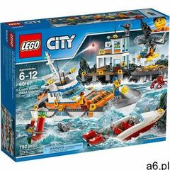 60167 KWATERA STRAŻY PRZYBRZEŻNEJ (Coast Guard Head Quarters) KLOCKI LEGO CITY - ogłoszenia A6.pl