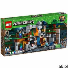 21147 PRZYGODY NA SKALE MACIERZYSTEJ (The Bedrock Adventures)- KLOCKI LEGO MINECRAF6 - ogłoszenia A6.pl