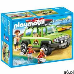 Playmobil FAMILY FUN Samochód terenowy z kajakiem 6889 rabat 5% - ogłoszenia A6.pl