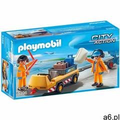 Playmobil CITY ACTION Holownik samolotu z kontrolerem ruchu 5396 - ogłoszenia A6.pl