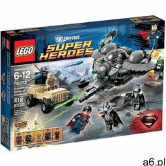 Lego SUPER HEROES Bitwa o smallville 76003 - ogłoszenia A6.pl