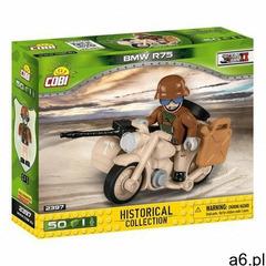 Klocki COBI Historical Collection: World War II - motocykl z bocznym wózkiem BMW R75 Sahara COBI-239 - ogłoszenia A6.pl