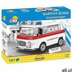 Klocki COBI Youngtimer Collection - Barkas B1000 Krankenwagen 24595 - ogłoszenia A6.pl