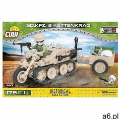 Klocki COBI Historical Collection: World War II - Sd.Kfz. 2 Kettenkrad 2401 - ogłoszenia A6.pl