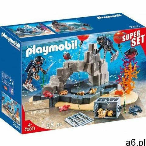 Playmobil 70011 SuperSet Akcja jednostki płetwonurków - 1