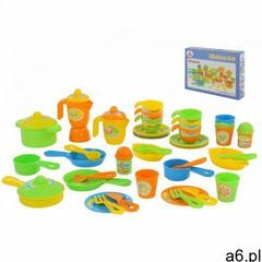 Zestaw naczyń dla dzieci 50 elementów pudełko (4810344076410) - ogłoszenia A6.pl