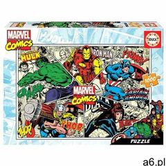 Puzzle 1000 komiksy marvela g3 (8412668184985) - ogłoszenia A6.pl