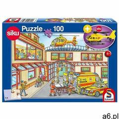 Schmidt Puzzle 100 siku helikopter pogotowie + zabawka g3 (4001504563523) - ogłoszenia A6.pl