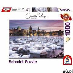 Puzzle pq 1000 christian ringer praskie łabędzie (4001504596958) - ogłoszenia A6.pl