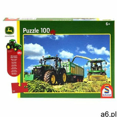 Puzzle 100 john deere traktor 7310r + zabawka g3 (4001504560447) - ogłoszenia A6.pl