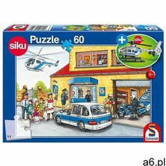 Schmidt Puzzle 60 siku helikopter (policja) + zabawka g3 (4001504563516) - ogłoszenia A6.pl