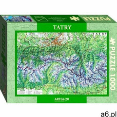 Puzzle 1000 tatry mapa turystyczna 1:50 000 - ogłoszenia A6.pl