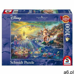 Puzzle pq 1000 mała syrenka (disney) g3 marki Schmidt - ogłoszenia A6.pl