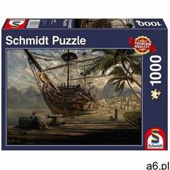 Schmidt Puzzle pq 1000 statek w porcie g3 - ogłoszenia A6.pl