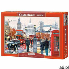, puzzle londyn marki Castorland - ogłoszenia A6.pl