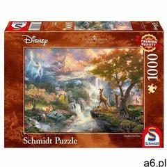 Puzzle 1000: Disney - Bambi (107253) - Thomas Kinkade - ogłoszenia A6.pl