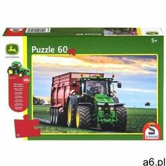 Puzzle 60 John Deere Traktor 8370R + zabawka G3 (4001504560430) - ogłoszenia A6.pl