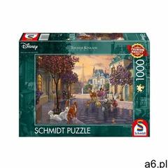 Puzzle PQ 1000 Thomas Kinkade Arystkotaci G3 - ogłoszenia A6.pl