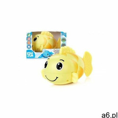 Zabawka nakręcana do kąpieli żółta rybka edu&fun marki Artyk - ogłoszenia A6.pl