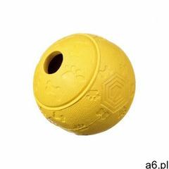 Piłka kauczukowa na przysmaki M - yellow - ogłoszenia A6.pl