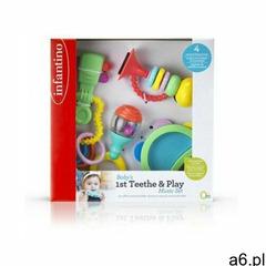 B-kids Infantino zestaw pierwszych zabawek 4 elementy - ogłoszenia A6.pl