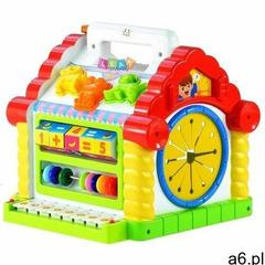 Edukacyjny multifunkcyjny domek pianinko sorter - marki Lean toys - ogłoszenia A6.pl