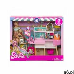 Zestaw z lalką barbie sklepik-salon dla zwierzaków marki Mattel - ogłoszenia A6.pl