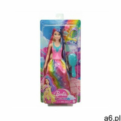 Mattel Lalka barbie fioletowo-czerwone włosy - ogłoszenia A6.pl