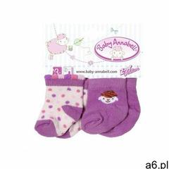 Baby annabell skarpetki (4001167700860) - ogłoszenia A6.pl