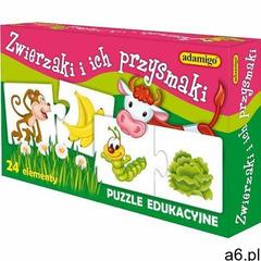 układanka zwierzaki i przysmaki marki Adamigo - ogłoszenia A6.pl