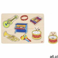 Goki Układanka z uchwytami- instrumenty muzyczne, układanka dźwiękowa, 57520 (4013594575201) - ogłoszenia A6.pl
