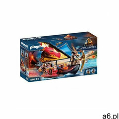 Playmobil Novelmore Statek ognia Wojowników Burnham 70641 - ogłoszenia A6.pl