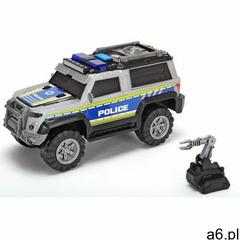 auto policja suv srebrny 30 cm marki Dickie - ogłoszenia A6.pl