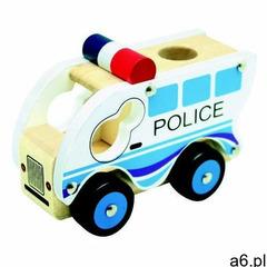 Autko drewniane - Policja (4019359840829) - ogłoszenia A6.pl