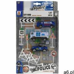 Dziecięcy zestaw do zabawy Policja, 10 szt., 681578 - ogłoszenia A6.pl