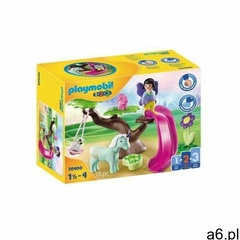 Playmobil zestaw z figurkami 1.2.3 70400 plac zabaw wróżek - ogłoszenia A6.pl