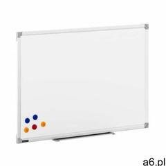 Tablica magnetyczna - biała - 90 x 60 cm - ogłoszenia A6.pl