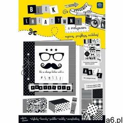 Blok kreatywny A4 z naklejkami B&W, 227553 - ogłoszenia A6.pl