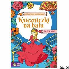 Praca zbiorowa Księżniczkowe kolorowanki. księżniczki na balu - ogłoszenia A6.pl