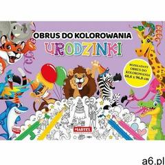 Obrus do kolorowania. Urodzinki Praca zbiorowa - ogłoszenia A6.pl