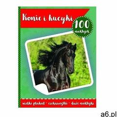 Praca zbiorowa 100 naklejek. konie i kucyki w.2 - ogłoszenia A6.pl