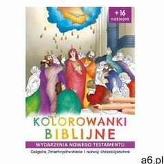 Kolorowanki biblijne Nowy Testament - Ireneusz Korpyś,józefina Kępa - ogłoszenia A6.pl